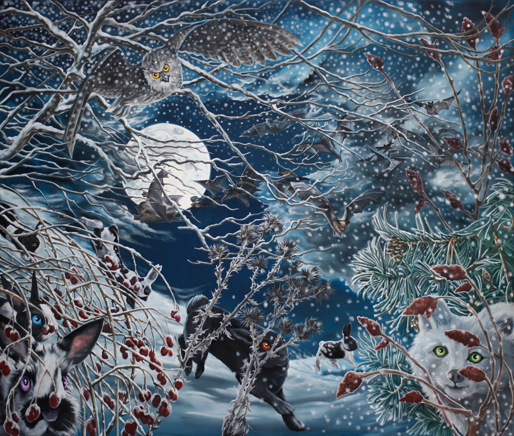 Winter. Julie Oakes.